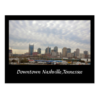 Downtown Nashville,Tennessee Postcard