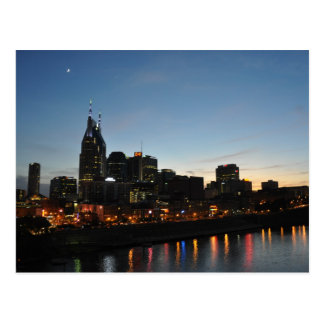 Downtown Nashville, Tn - Postcard