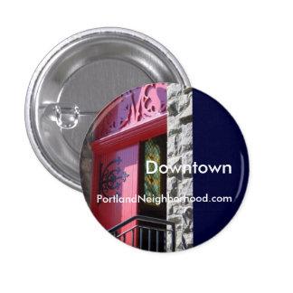 Downtown Neighborhood Button - Portland OR