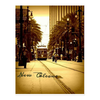Downtown New Orleans Postcard