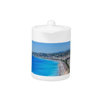Downtown Nice, France Teapot