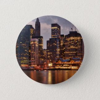 Downtown NYC Pinback Button
