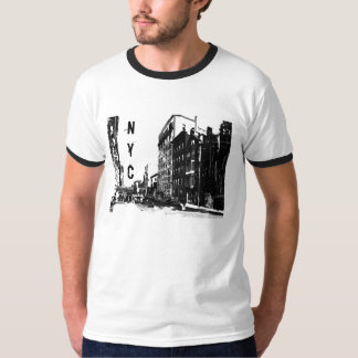 Downtown - NYC Ringer T-Shirt
