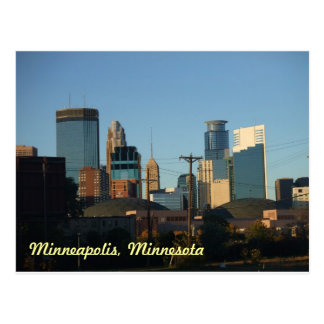 Downtown of Minneapolis, Minnesota Postcard
