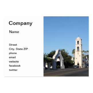 Downtown Ojai Large Business Cards (Pack Of 100)