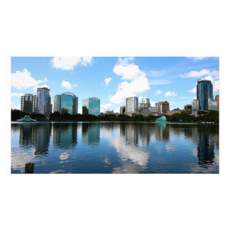Downtown Orlando Photo Print