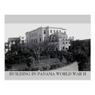 DOWNTOWN PANAMA POSTCARD