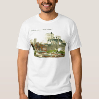 Downtown, Pittsburgh 1915 Vintage T Shirt