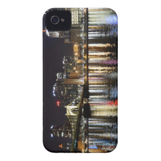 Downtown Pittsburgh at Night iPhone 4 Case-Mate Case