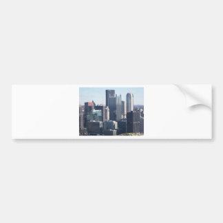 Downtown Pittsburgh Car Bumper Sticker