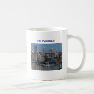 Downtown Pittsburgh Classic White Coffee Mug