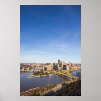 Downtown Pittsburgh, Pennsylvania Poster