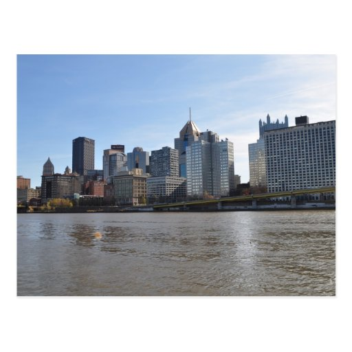 Downtown Pittsburgh Postcard