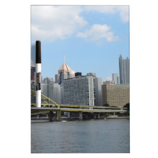 Downtown Pittsburgh Skyline Dry-Erase Whiteboards
