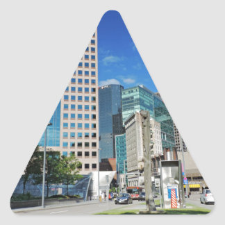 Downtown Pittsburgh Triangle Sticker