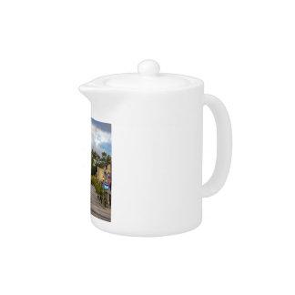 Downtown Port Washington WI Streetscape Teapot
