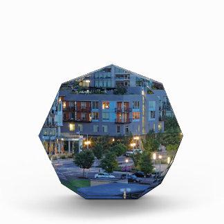 Downtown Portland at Dusk Acrylic Award