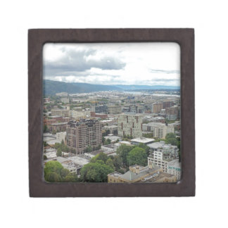 Downtown Portland Premium Keepsake Boxes