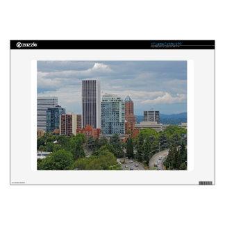 "Downtown Portland 15"" Laptop Decal"