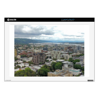 """Downtown Portland Skins For 17"""" Laptops"""