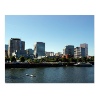 Downtown Portland & Willamette River Postcards