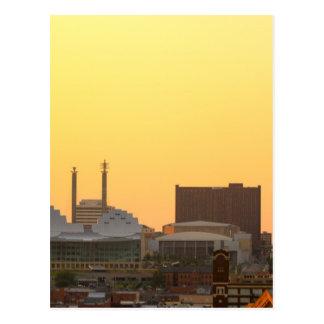 downtown postcard
