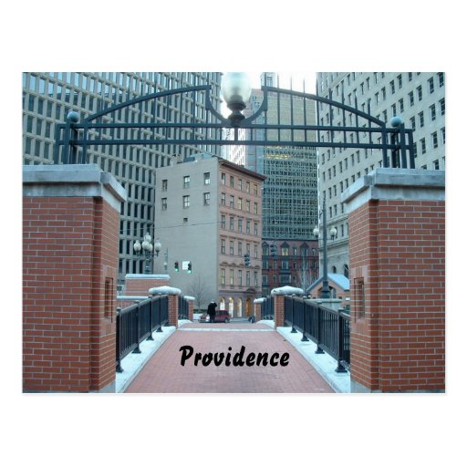 Downtown Providence, Postcard