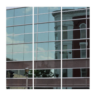 Downtown Reflection Triptych