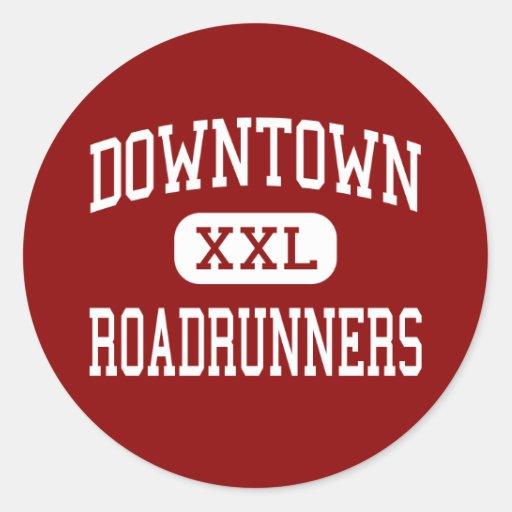 Downtown - Roadrunners - San Francisco Round Sticker
