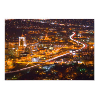 Downtown Roanoke, Virginia Photo Art