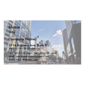 Downtown San Diego Business Card Templates