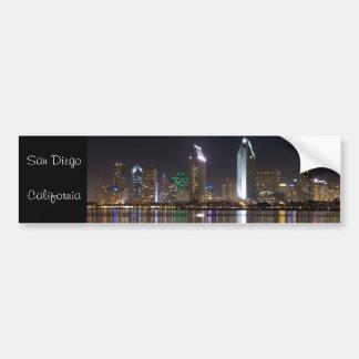 Downtown San Diego, California Bumper Stickers