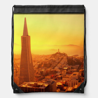 Downtown San Francisco, CA Cinch Bag