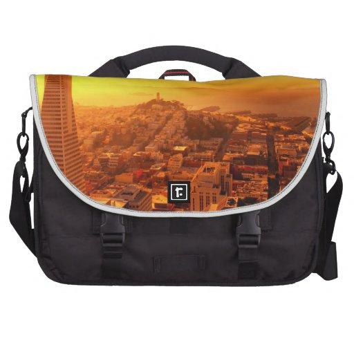 Downtown San Francisco, CA Laptop Messenger Bag