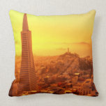 Downtown San Francisco, CA Pillow