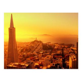 Downtown San Francisco, CA Postcard