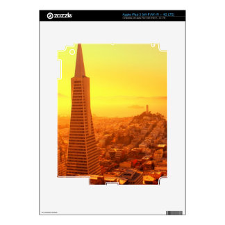 Downtown San Francisco, CA Decal For iPad 3