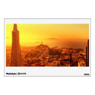 Downtown San Francisco CA Room Sticker