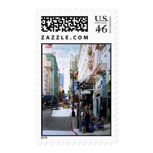 Downtown, San Francisco Stamps