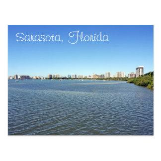 Downtown Sarasota Florida Postcard
