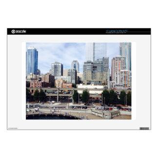 "Downtown Seattle 15"" Laptop Skin"