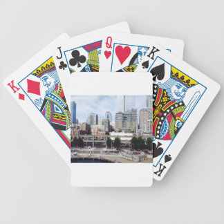 Downtown Seattle Bicycle Playing Cards