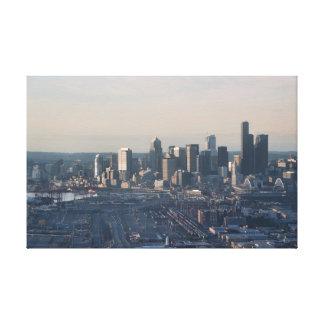 Downtown Seattle Canvas Print