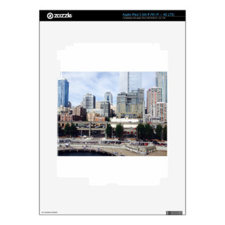 Downtown Seattle iPad 3 Decal