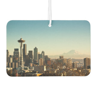 Downtown Seattle skyline and Space Needle Car Air Freshener