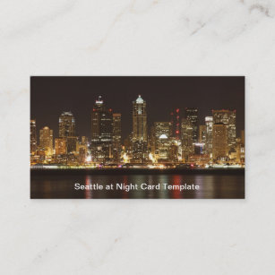 Seattle business cards templates zazzle downtown seattle washington business card colourmoves