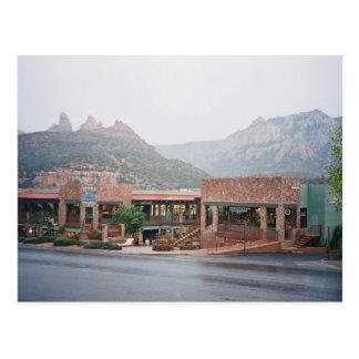 Downtown Sedona, Arizona Postcard
