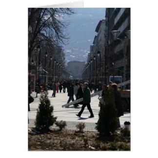 Downtown Skopje 1 Card