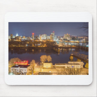 downtown skyline of pennsylvania mouse pad