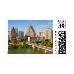 Downtown Skyline on Lady Bird Lake Stamps
